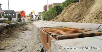 Kanalbau: Osterholzer Stadtwerke setzen Arbeiten in Ahrensfelde fort - WESER-KURIER