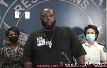 Killer Mike Delivers Emotional Speech to Atlanta Protestors at Mayor's Press Conference