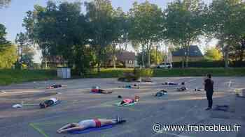 La relance éco : à Heillecourt, la salle de sport World Fitness redémarre avec des cours en plein air - France Bleu