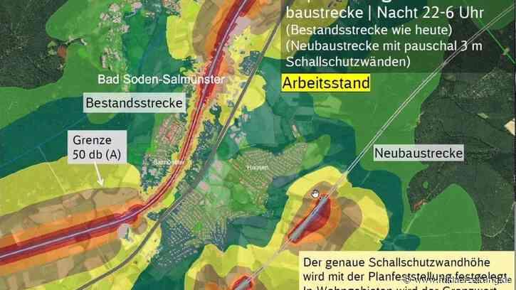 Bundestag gibt 29 Millionen Euro für Neubaustrecke Hanau-Gelnhausen frei | Kinzigtal - Fuldaer Zeitung