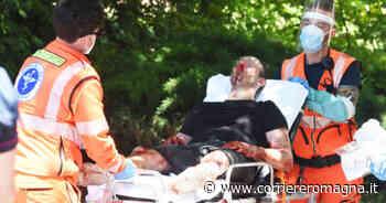 Rimini. Si accoltellano vicino all'Arco d'Augusto: due feriti - Corriere Romagna