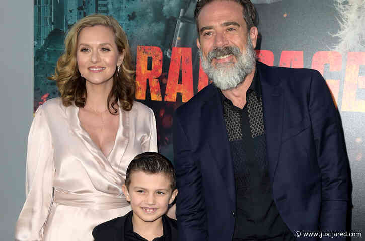 Jeffrey Dean Morgan & Hilarie Burton Say That Son Gus Wanted to Name Sister George This Instead