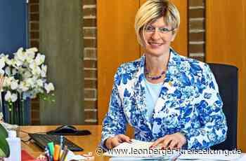 Susanne Dornes in Rutesheim: Die Bürgermeisterin ist wieder im Rathaus - Leonberger Kreiszeitung - Leonberger Kreiszeitung