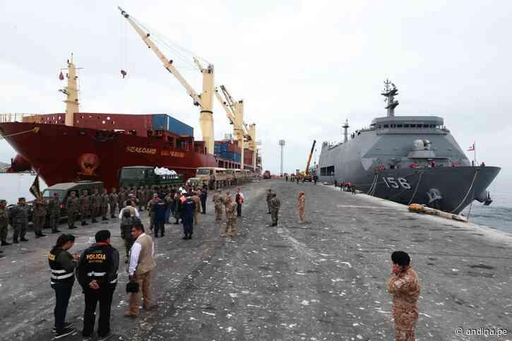 Obras para la modernización del Puerto de Ilo se reanudarán próximamente - Agencia Andina