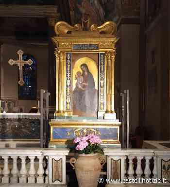 VELLETRI - Fino al 31 maggio, in Cattedrale, la Madonna delle Grazie esposta al centro dell'altare - Castelli Notizie