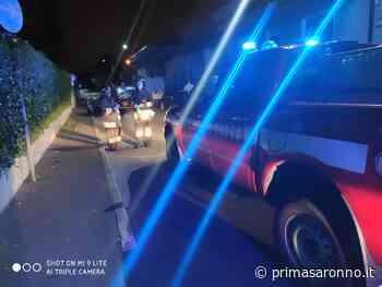 Auto si ribalta nella notte a Turate - Varese Settegiorni