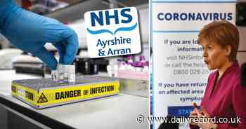 Coronavirus Scotland: Number of Ayrshire patients fighting COVID-19 in hospital hits new low - Daily Record