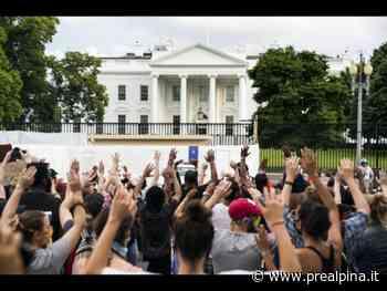 Proteste Washington, acqua contro agenti - La Prealpina