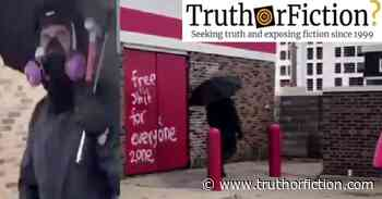 Was a Saint Paul Police Officer Caught Vandalizing Property at a... - Truth or Fiction