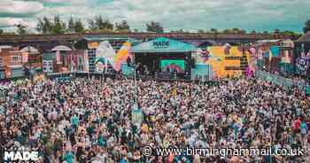 MADE Festival postponed: Organisers beg people not to ask for refunds - Birmingham Live