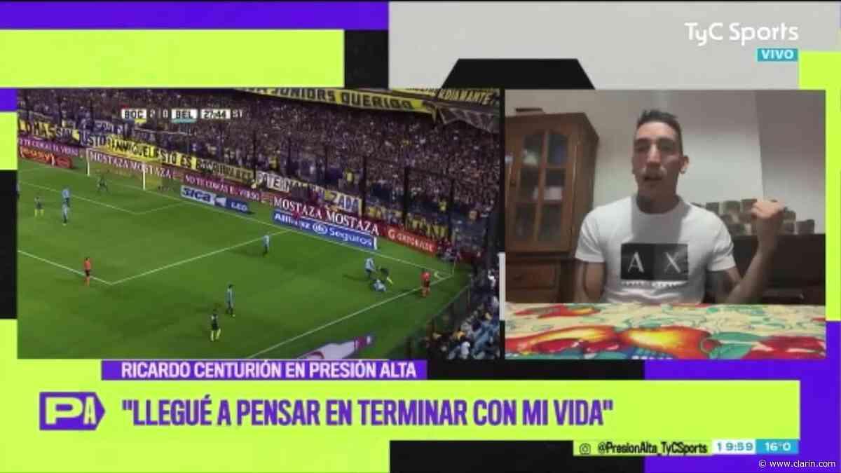 Centurión se enojó con Fantino - 29/05/2020 - Clarín.com