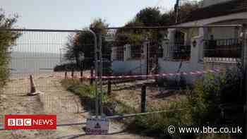 Eastchurch cliff fall: Families evacuated as homes at risk