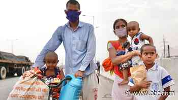 Coronavirus: India to loosen lockdown despite record cases - BBC News