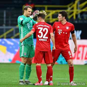 LIVE: Bayern Munich aim to open gap at top