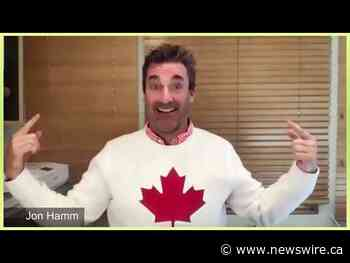 SkipTheDishes and Jon Hamm Have Half A Million Reasons to Thank Canadians - Canada NewsWire