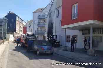 INCENDIE A FECAMP. 60 familles relogées - Le Courrier Cauchois