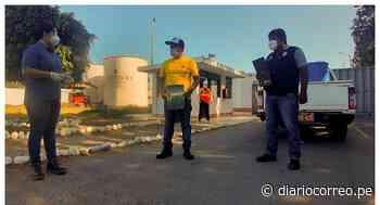 Donan alcohol para personas que controlan el ingreso a Santiago de Cao - Diario Correo