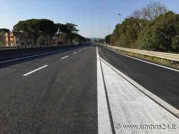Cantieri E45, aperto svincolo Torgiano - San Martino in Campo. Si chiude uscita Balanzano - Umbria 24 News