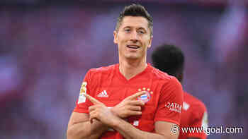Lewandowski has now scored against all 18 Bundesliga clubs as he equals his best-ever tally