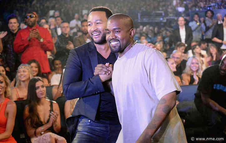 John Legend says he hasn't reconciled with Kanye West since Donald Trump fallout in 2018