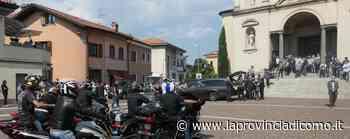 Novedrate, rombo di moto per l'ultimo saluto ad Angelo - La Provincia di Como
