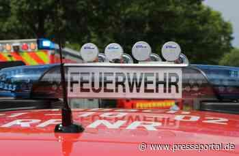 FW Asbach: Nach Alleinunfall landet PKW auf Dach - Fahrer verletzt - Presseportal.de