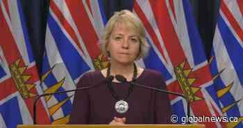 B.C. health officials to provide Saturday COVID-19 update