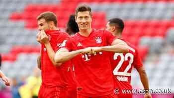 Bayern continue relentless charge towards Bundesliga title