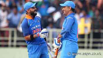 Kohli: Dhoni played a big role in my becoming captain