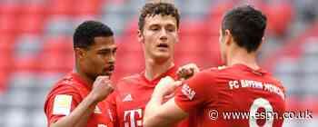 Lewy, Davies score as rampant Bayern roll