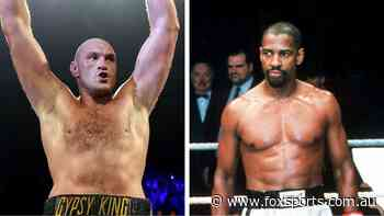 There's only one man Tyson Fury wants to play him in a movie - Fox Sports
