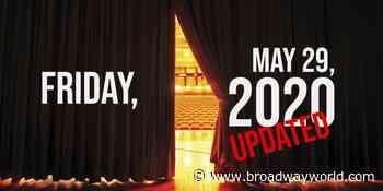 Virtual Theatre Today: Friday, May 29- with Jordan Fisher, Cheyenne Jackson, Chita Rivera, and More! - Broadway World
