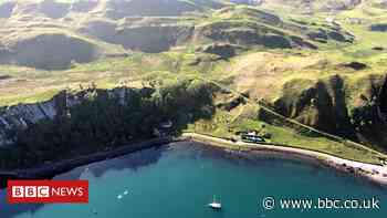 Drone drops off Isle of Mull coronavirus masks