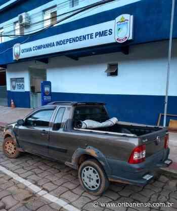 Polícia Militar recupera veículo roubado em Santa Teresa - O Ribanense