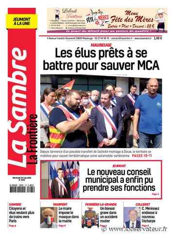 La Sambre (Jeumont) du vendredi 29 mai 2020   L'Observateur - L'Observateur