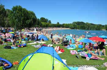 Corona bremst Badespaß am See in Heddesheim - Mannheimer Morgen