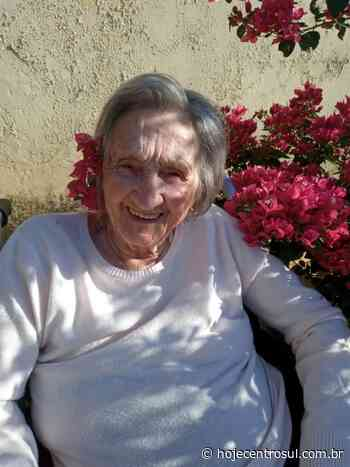 Moradora de Irati comemorou 100 anos de idade nesta semana - Hoje Centro Sul