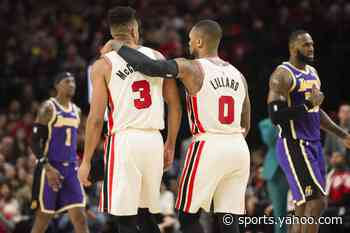 Where do Damian Lillard and CJ McCollum rank on Forbes list of highest paid athletes