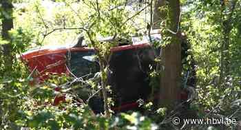 Ernstig ongeval aan grens met Bocholt: traumahelikopter voor slachtoffer - Het Belang van Limburg
