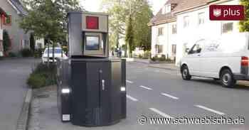 Bad Saulgau: Stadt mietet mobiles Radarmessgerät - Schwäbische