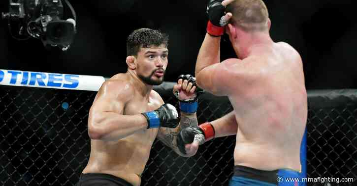 Klidson Abreu sees 'huge hole' in Jamahal Hill's ground game, predicts submission win at UFC on ESPN 9