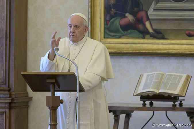 Hoy, a las 10:30 el rezo del rosario junto al papa Francisco contra el coronavirus - El Universo