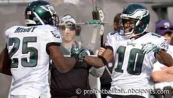 Eagles' Lane Johnson, DeSean Jackson hoping for a LeSean McCoy return