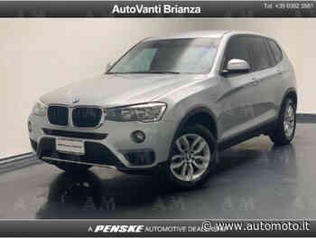 Vendo BMW X3 xDrive20d Business Advantage Aut. usata a Desio, Monza e Brianza (codice 7491684) - Automoto.it