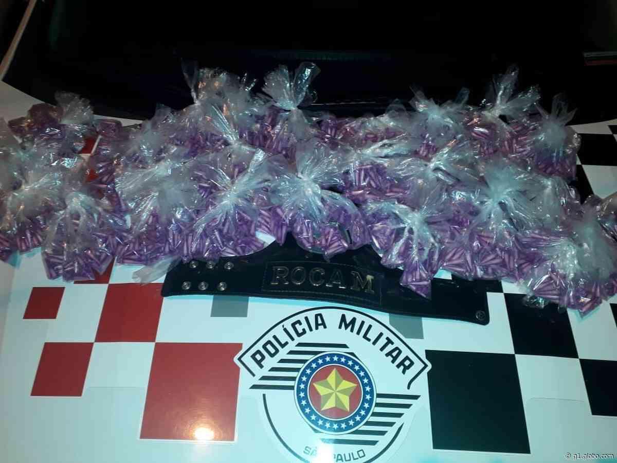 Dupla é presa por tráfico de drogas em Lorena - G1