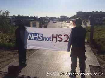 Three HS2 protesters arrested in Aylesbury Vale - Buckingham Advertiser