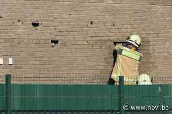 Brandweer zoekt naar spouwmuurbrand in Beringen, Stationsstr... (Beringen) - Het Belang van Limburg