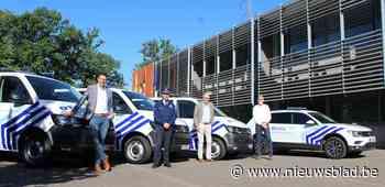 Drie nieuwe combi's en politiewagen voor zone Beringen/Ham/Tessenderlo - Het Nieuwsblad
