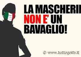 A GAETA: MASCHERINE TRICOLORI, QUINTO SABATO DI PROTESTA IN ITALIA - Tutto Golfo