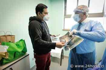 Paciente de 30 años con COVID-19 que fue trasladado a Concepción en estado grave regresó a Santiago recuperado - 24Horas.cl
